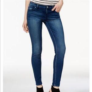 💞GUC Guess Power Skinny Low Jeans Medium Wash
